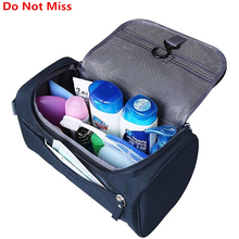 Travel Cosmetic Organizer Bag Waterproof Wash Bag Men Women Cosmetic Makeup Bag Hanging Toiletry Bag Necessaries Make Up Case