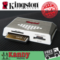 Kingston Кард-ридер USB 3.0 все в одном устройство чтения карт памяти CF micro SD SDHC SDXC UHS-I microSD Memory Stick PRO Duo MS otg карты компьютера