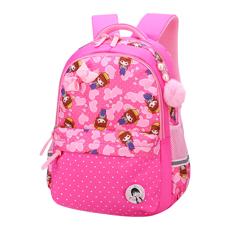 Children School Bags Girls Kids Satchel Primary cartoon backpack princess Orthopedic Bac ...