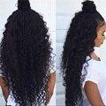 Дешевые Вьющиеся Волосы Плотность 150 Полный Парик Шнурка Малайзии Девы Волос кружева Передние Парики С Волосами Младенца Отбеленные Узлы Бесклеевой Lace Wig