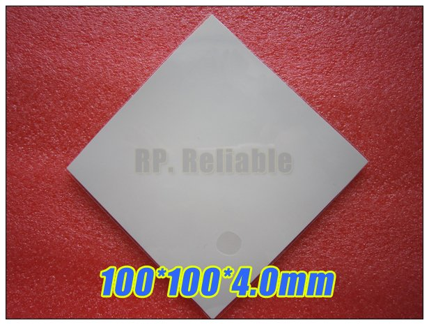 100*100*4.0mm Soft Silicone Thermal Pad /Thermal Pads /Thermal Cooling for Heatsink /Chipset /Chip /IC /VRAM /LED Gap Insulation 100mm 100mm 1mm soft silicone thermal pad thermal pads heat conductive for heatsink laptop ic chipset chip vga gpu gap