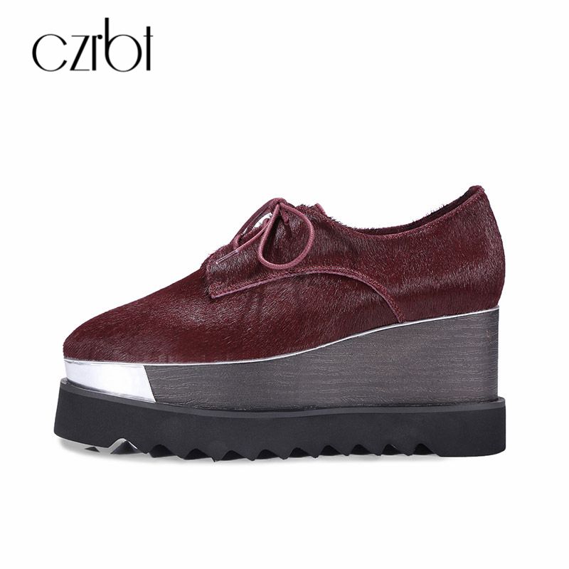 CZRBT Spring/Autumn Fashion Horsehair Flats Platform Shoes Comfortable Casual Women Shoes Genuine Leather Ladies Shoes 5 inch hd car gps navigation 800m fm 8gb ddr128m map free upgrade car gps navigator navitel europe sat nav truck gps automobile