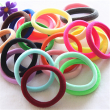 Elastic Rubber Band 24pcs/lot Rope Tie Gum Ponytail Holder Seamless Silicone Rings Hair Accessories For Girl Women