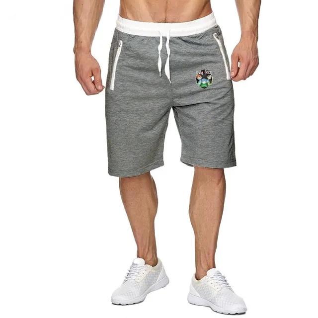 Mens Baggy Jogger Casual Slim Harem Shorts Soft 3/4 Trousers Fashion New Brand Men Sweatpants Summer Comfy Male Shorts 2019 New