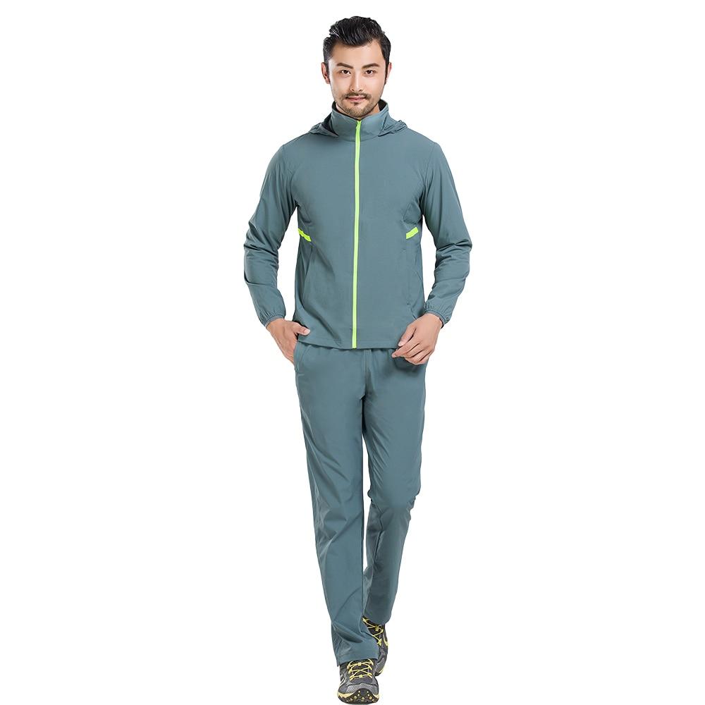 Quick Dry Shirt and Pants Camping Climbing Fishing Clothing Suit Men Lightweight Trekking Anti-uv Sunscreen Hiking Outdoor Sets