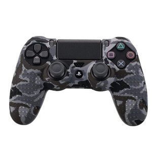 Image 5 - Camouflage Case Graffiti Studded Dots Silicone Rubber Gel Skin for Sony PS4 Slim/Pro Controller Cover Case for Dualshock4