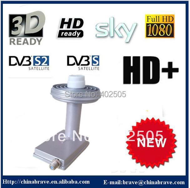9.75/10.6GHZ 0.1db prime focus lnb ku band for DVB-S
