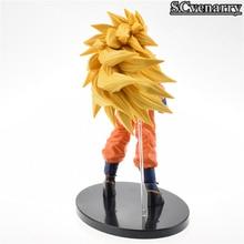 Dragon Ball Z Super Saiyan 3 Son Gokou PVC Action Figure Collectible Model 21cm