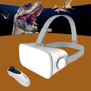 Image 2 - Новинка, 3d очки виртуальной реальности Baofeng Mojing S1, Очки виртуальной реальности, гарнитура виртуальной реальности 110 линзы Френеля + пульты дистанционного управления Bluetooth для смартфона