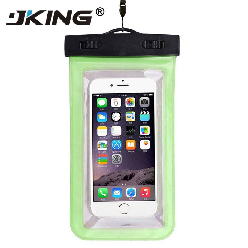 JKING Universal Waterproof <font><b>Case</b></font> For iPhone X XS MAX 8 7 6 s 5 Plus Cover Pouch Bag <font><b>Cases</b></font> For <font><b>Phone</b></font> Coque <font><b>Water</b></font> <font><b>proof</b></font> <font><b>Phone</b></font> <font><b>Case</b></font> image