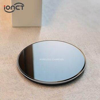 Chargeur sans fil iONCT 15W qi pour iPhone X XR XS Max 8 charge sans fil rapide pour Samsung Xiaomi Huawei téléphone Qi chargeur sans fil