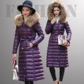 Large Real Natural Raccoon Fur 2016 New Fashion 90% White Duck Down Parka Winter Jacket Women Coat Plus Size 6XL Female Jacket