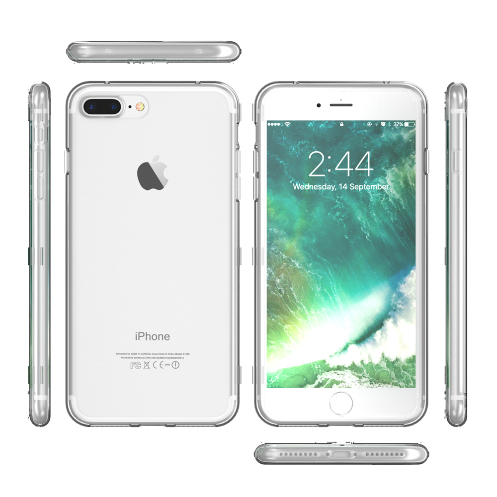 online retailer 4d755 526a4 US $3.32 |KISSCASE Case For iPhone 6 7 6S Plus Fundas Coque Fashion Book  Flip Full Cover Clear View Screen Touch Soft Case For iPhone 6 6s-in Phone  ...