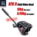 Upgraded Lightweight INNOREL H70 II Fluid Video Head Hydraulic Damping DSLR Tripod Monopod Manfrotto 501PL Bird Watching Bigone