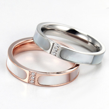 Fanala Rings Women Artificial Wedding Engagement Wide Ring Fashion Jewelry Making Things Convenient For The People Jewelry & Accessories