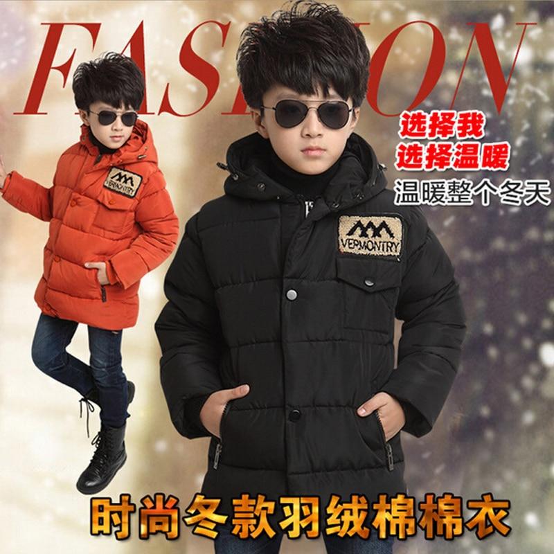 Boys Coat Down Winter Jacket For Boy Children Outerwear & Coat Kids Down Parka Children Winter Jackets Boys Snowsuit Clothes 90 160 down jackets for children boys