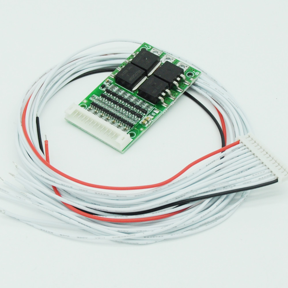 Circuits 3s-17s Lithium Li-ion Battery Led Test Board Protection Board Cable Wiring 10s 36v 13s 48v 16s 60v Bms Line Connector Detection