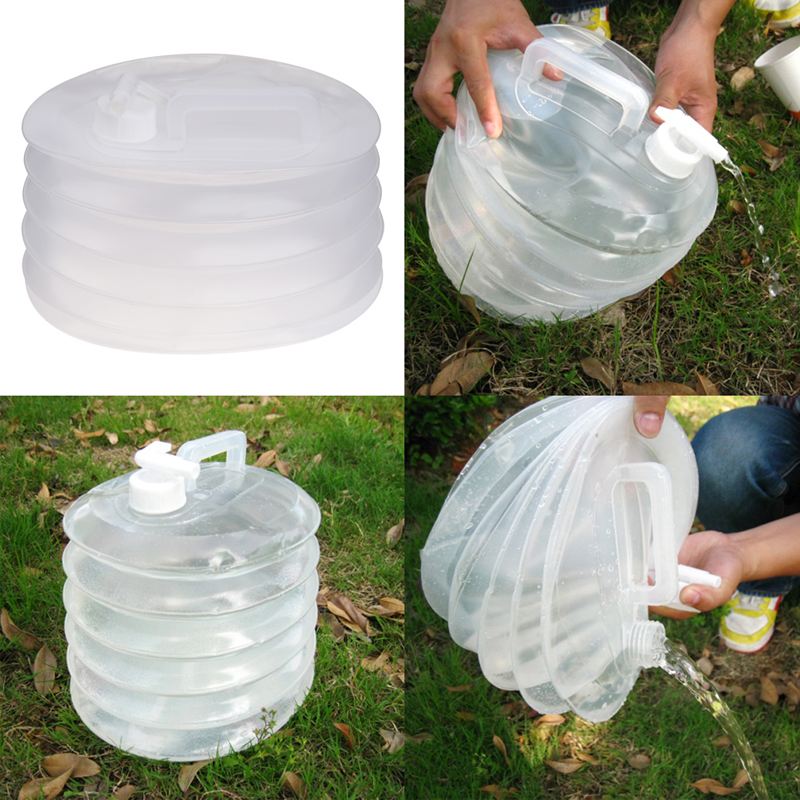 Канистра-гармошка на 10 литров