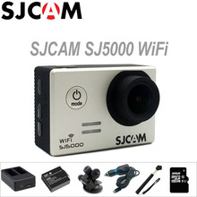 Action Camera SJCAM SJ5000 WiFi Sports DV 1080 P Full HD 2 polegadas Tela de Mergulho 30 M À Prova D' Água Filmadora mini Original SJ 5000 Cam