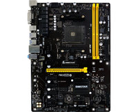 BIOSTAR Original board TB350 BTC AM4 B350 Dig Mining Motherboard Supports 6 Graphics Cards A6 9500 6PCI E Graphics slot