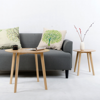 Simple round bamboo edge several Nordic creative bamboo small tea table side table LM12201823