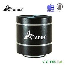 Głośnik wibracyjny ADIN zdalnego sterowania mini przenośne radio fm głośnik super bass głośniki subwoofer audio dla telefonu komputera pc