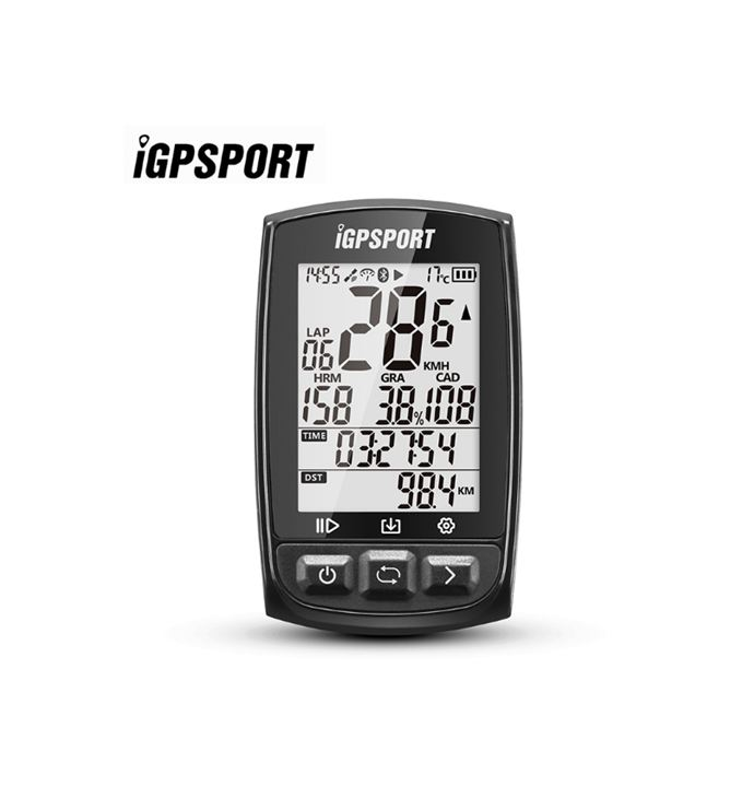 GPS rapid positioning usb speedometer iGS50E bicycle gps speedometer IPX7 Waterproof GPS With ANT+ Bluetooth 4.0 100% brand new gps speedometer 60knots for auto boat with gps antenna white color