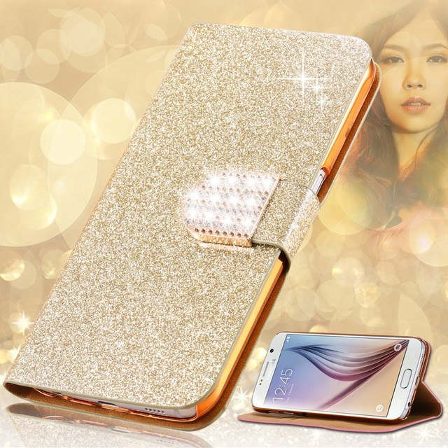 Phone Cases For Fly IQ4503 Era Life 6 Quad 5,Luxury PU Leather Skin Wallet Cover Flip Stand Case For iq 4503 Case Cover
