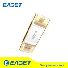 Eaget i60 OTG USB 3.0 100{e3d350071c40193912450e1a13ff03f7642a6c64c69061e3737cf155110b056f} 128 GB Flash Usb Pen Drive de Memoria Tablet PC Pendrive U Disco Stick Para iOS Para iPhone Pass H2testw