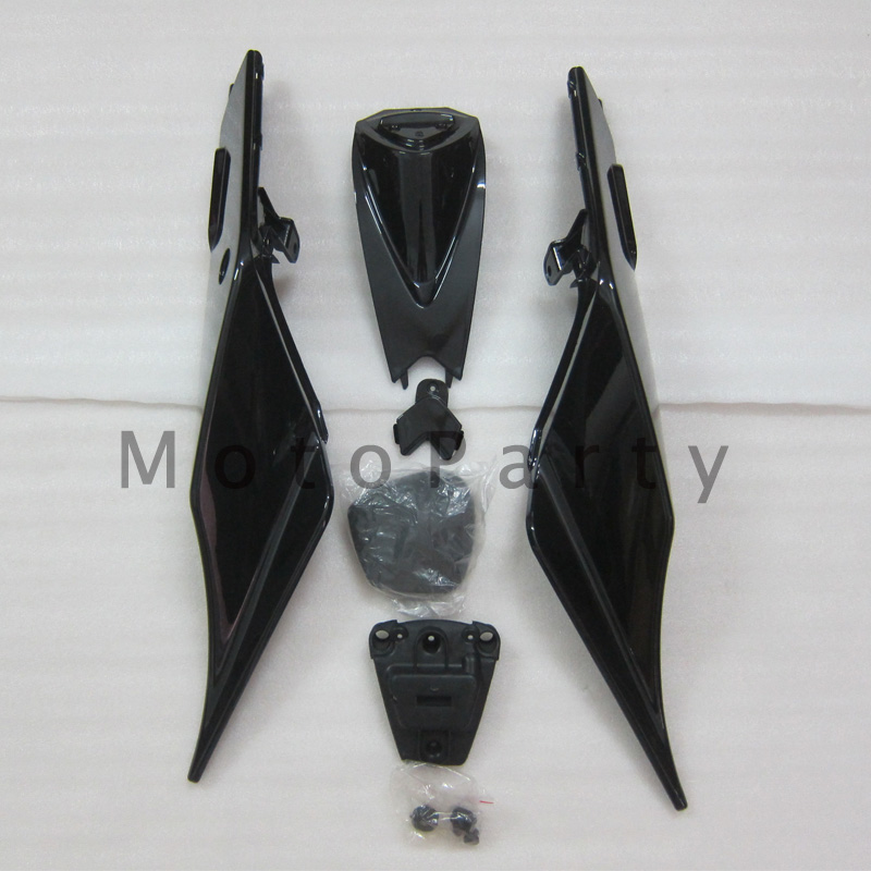 Motorcycle Right Left Rear Tail Fairing Cover Pillion Hard Seat Cover Cowl For Aprilia RSV4 RSV1000 2009 - 2012 2013 2014 2015