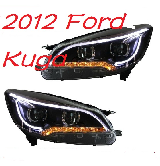 Car Styling for Ford Kuga Headlights Escape 2012~2015 Escape LED Headlight DRL Bi Xenon Lens High Low Beam Parking Fog Lamp