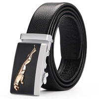 Fashion Belt Men Top Quality Genuine Luxury Leather Belts For Men Strap Male Metal Automatic Buckle
