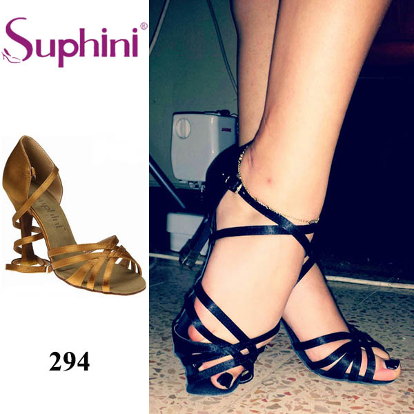 цена на Free Shipping Suphini Top Selling Latin Shoes Woman Dance Shoes,Classic Lady Salsa Shoes Special Price Dance shoes
