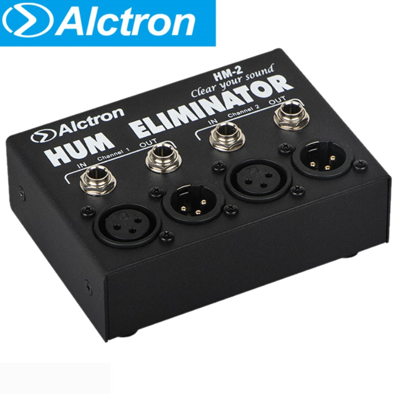 Alctron HM 2 hum eliminator to reduce the noise for professional recording studio living stage concert