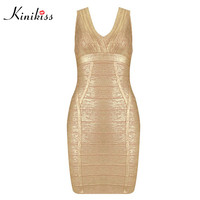 Kinikiss Sexy Hollow Out Women Bodycon Dress Long Sleeve Summer Club Girl Bandage Dress Elegant Women