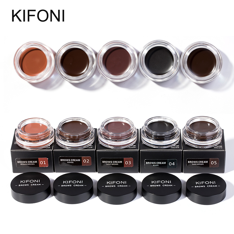 Impartial Kifoni New Arrivals Professional Eyebrow Gel 6 Colors High Brow Tint Makeup Eyebrow Brown Eyebrow Gel With Brow Brush Tools A Wide Selection Of Colours And Designs Eyebrow Enhancers