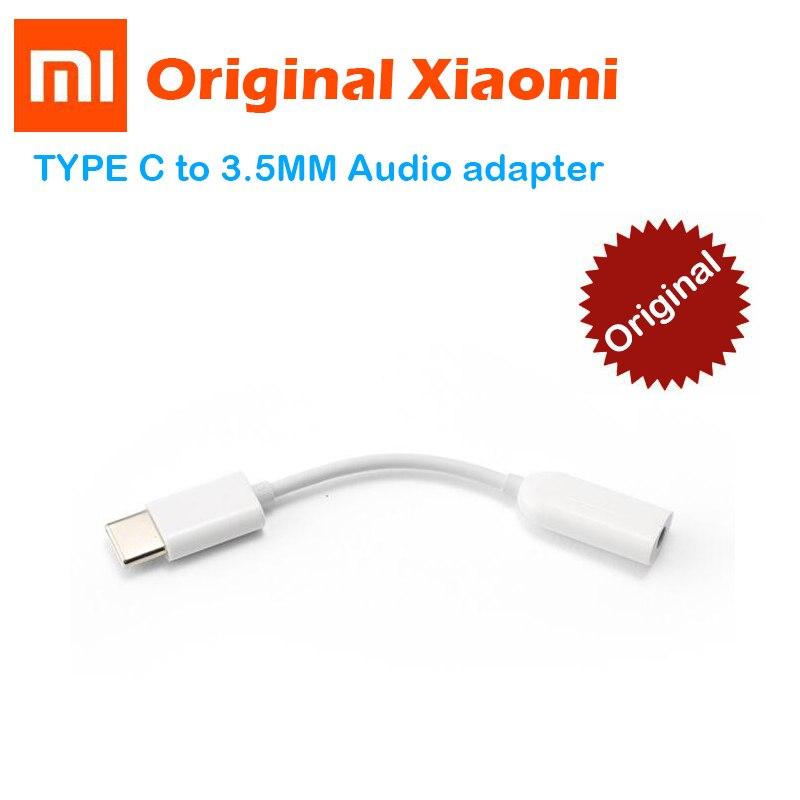 Xiaomi Adapter Earphone Audio-Cable Female-Jack Usb-C Type-C Original For 6-mi6/Mi/8-se/..