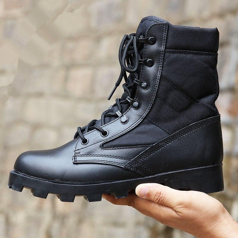 Chaussures de course pour hommes bottes d'hiver chaussures d'entraînement haut de gamme bottes tactiques chaussures de course pour hommes