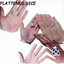 Новое поступление плоские кубики легкий магический крупным планом фокус с кубиками легко обучаемые мини-магические реквизиты игрушки забавная игрушка подарок