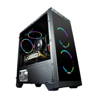 GETWORTH S1 Office PC Desktop Computer Gaming Double Core Intel Pentium G4560 1TB HDD 4GB RAM B250 For LOL DIY Desktop Free Fan