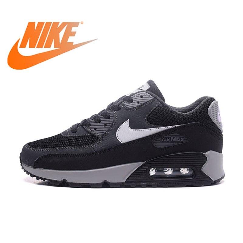 994a9511bda Original auténtico Nike Air Max 90 zapatos esenciales para correr para  hombre zapatillas deportivas al aire libre transpirables 2018 nueva llegada  537384