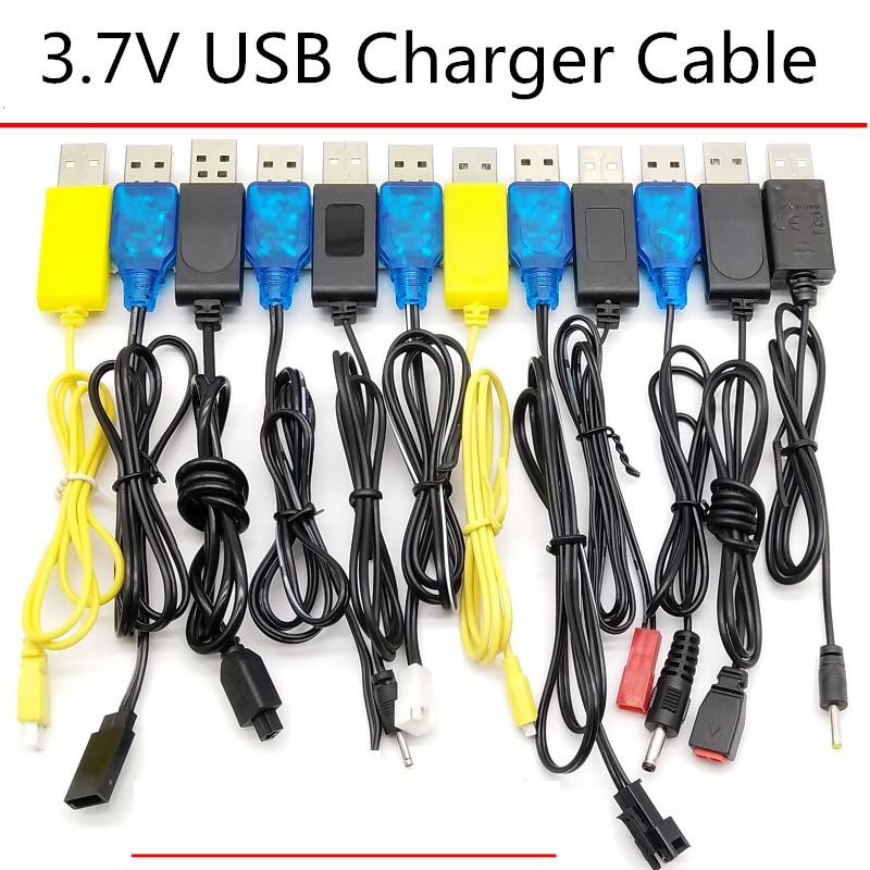 3.7v Charger Lipo Battery Intelligence USB Drone Electric RC Toys Airplane Model R/C Helicopter Music Story Machine Charger Part