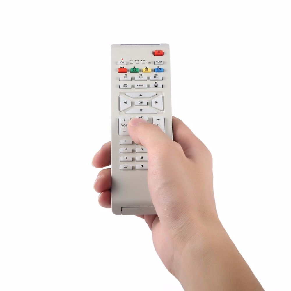 Smart TV Remote Control Replacement for Philips RM-631 TV/DVD/AUX RC1683701 / 01 RC1683702-01 Television Controller
