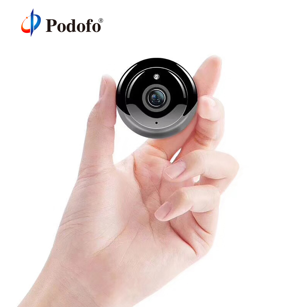 Podofo 720P HD Wireless Mini WIFI Smart Home Security IP Camera Onvif Baby Monitor IR-CUT Night Vision Remote View Two-Way AudioPodofo 720P HD Wireless Mini WIFI Smart Home Security IP Camera Onvif Baby Monitor IR-CUT Night Vision Remote View Two-Way Audio