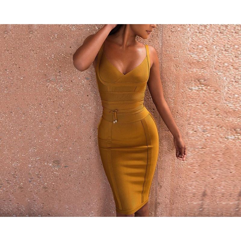 Summer Dress Women vestido New Sexy boho Dresses Spaghetti Strap Deep V Backless Fashion Bodycon Femme Vestidos Club Party Dress