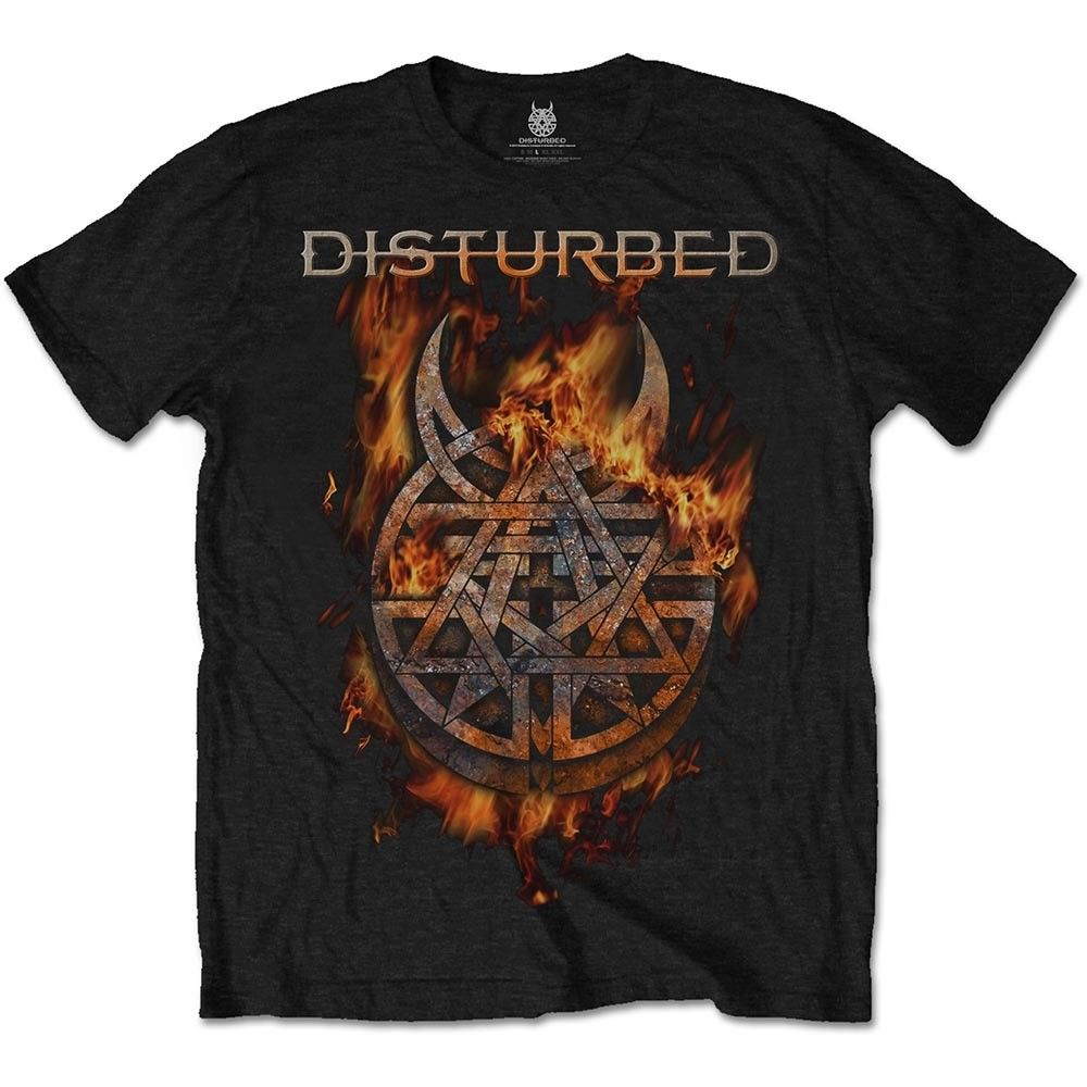 T Shirt New Brand Disturbed Burning Belief Shirt S M L Xl Xxl Official T Shirt Metal Band Tshirt New Brand Casual Clothing