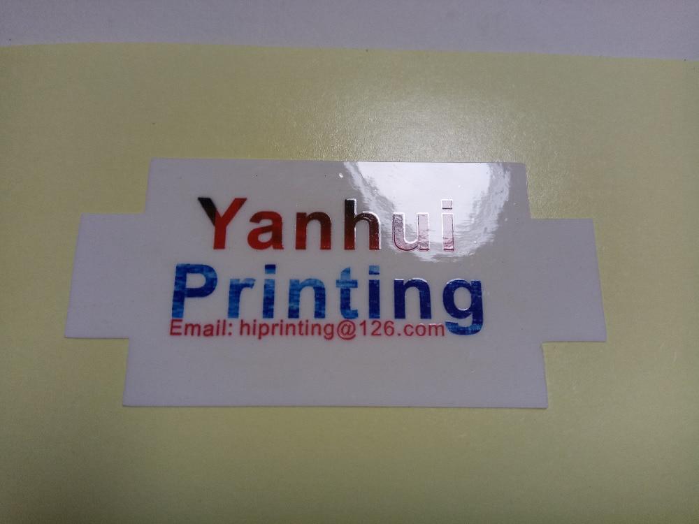 5 stikcer printing/3 designs