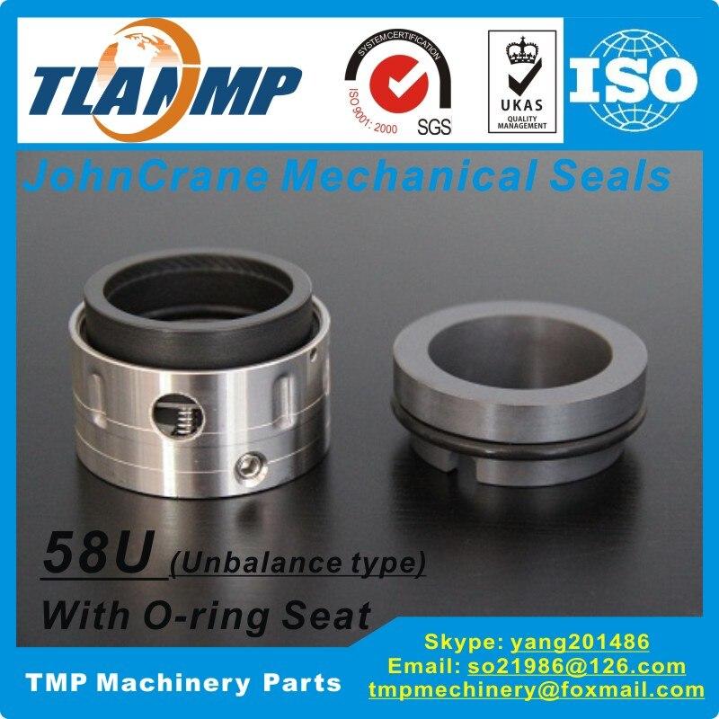 T58U-30, joints mécaniques de grue 58U/30 John (matériau: SiC/carbone/Viton)   Type 58U type de déséquilibre pour pompes de taille d'arbre 30mm