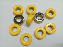10 STÜCKE T106 6 Eisenpulver Kreisförmigen Kern geringe durchlässigkeit HR RF carbonyl ferromagnetischen ring