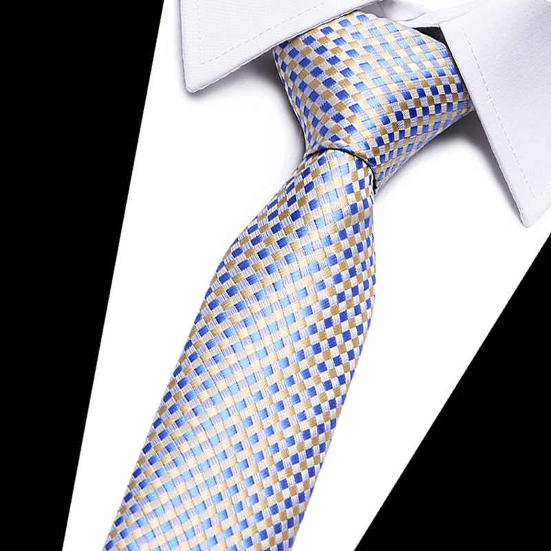 100% soie cravate skinny 7.5 cm floral cravate haute couture plaid cravates pour hommes slim coton cravate hommes 2019 gravatas